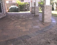 Clear Lake, The Bay Area..Paver Patio and Walkway, Belgards Mega Urbana