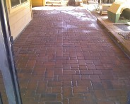 After Picture, Houston, Texas, Belgard Brick Paver Patio