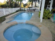Galveston Pool Deck Belgard cobble stone brick pavers landscaping